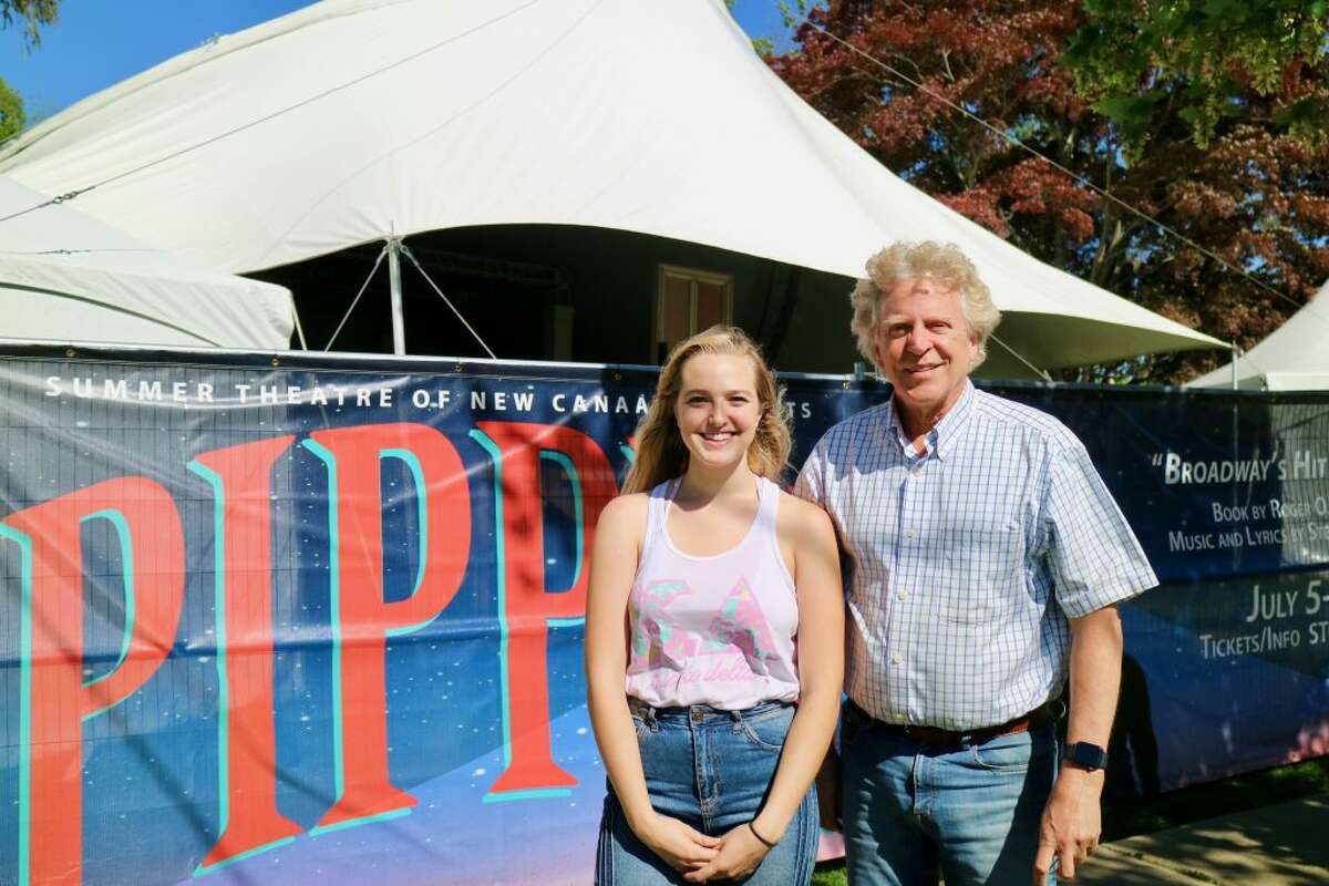Ridgefielder Rachel Cooper, an undergraduate at Arizona State University, has joined the Summer Theatre as a technical theatre intern. Cooper is pictured with the Summer Theatre's Executive Producer Ed Libonati. She is focused on carpentry and audio for all the Summer Theatre's productions.