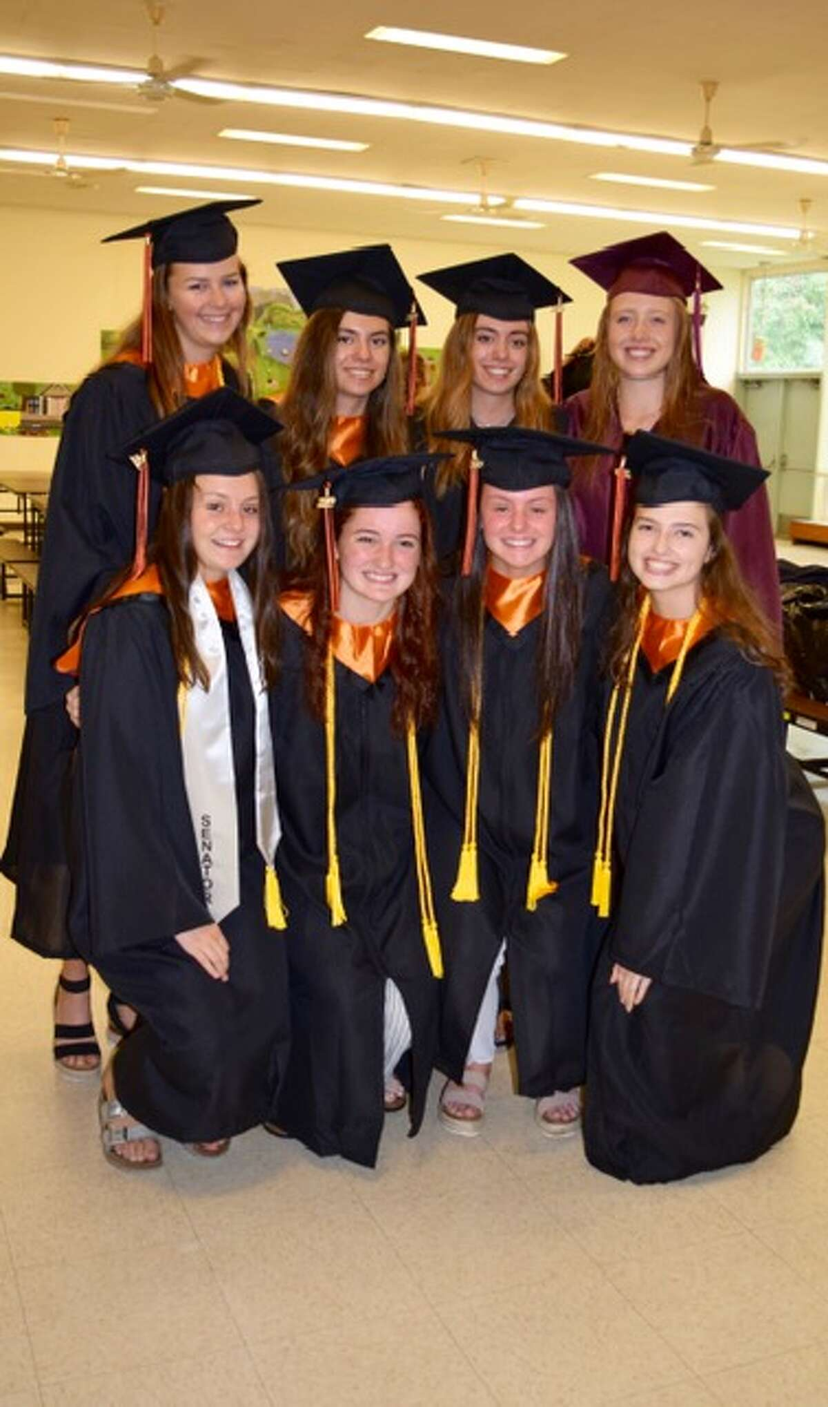 """A group of Veterans Park Elementary School students returned """"home"""" Tuesday, June 18 days before their graduation from Ridgefield High School."""