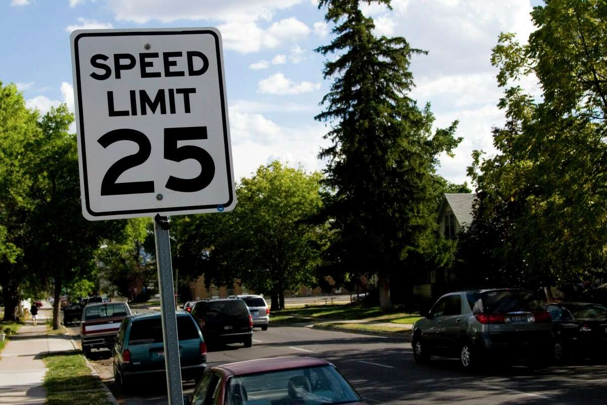 Is a speed limit of 25 too high?
