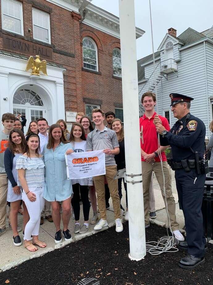 The annual GRADD (Government of Ridgefield Against Drunk Driving) ceremony took place Wednesday, May 29, with members of the Ridgefield High School senior class.