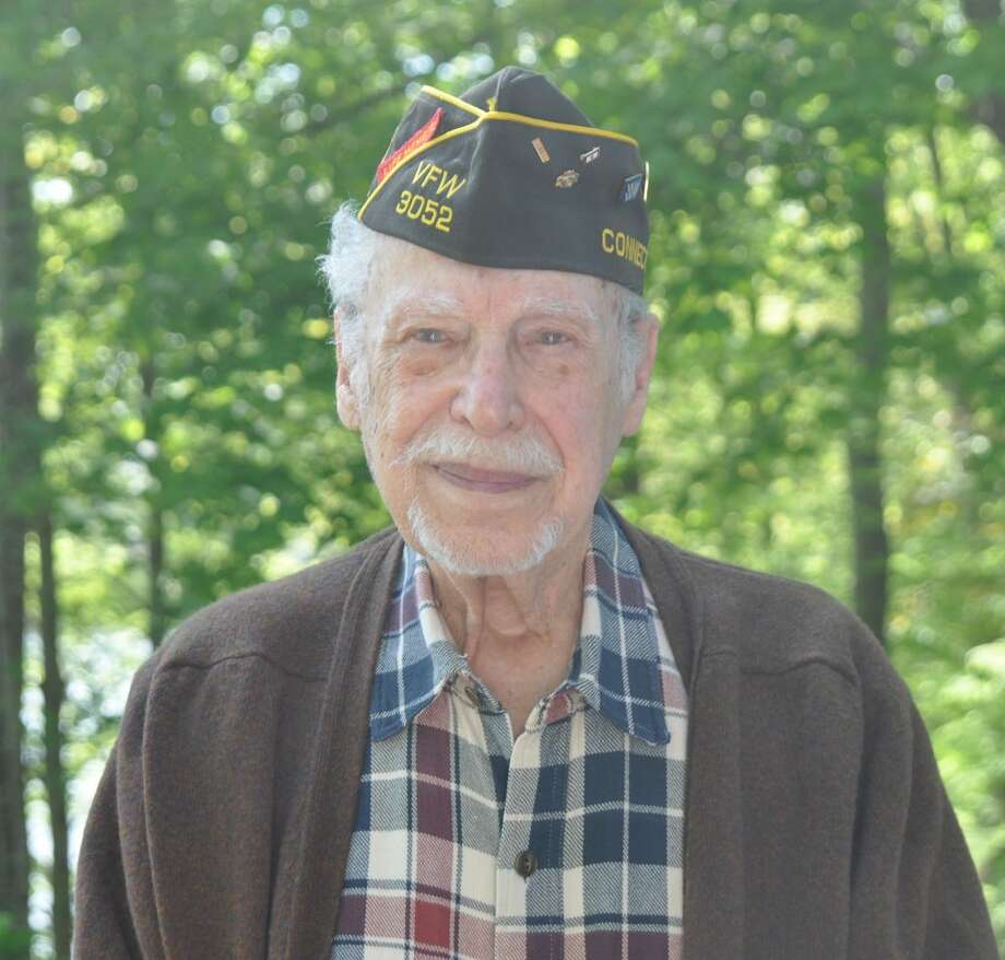 World War II veteran Wally Goodman, who was part of a five-man radio communications team during fighting in the Pacific, is the grand marshall of Ridgefield's 2019 Memorial Day parade.