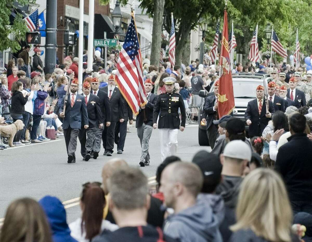 Last year's Memorial Day parade drew a crowd of more than 5,000. - Scott Mullin photo