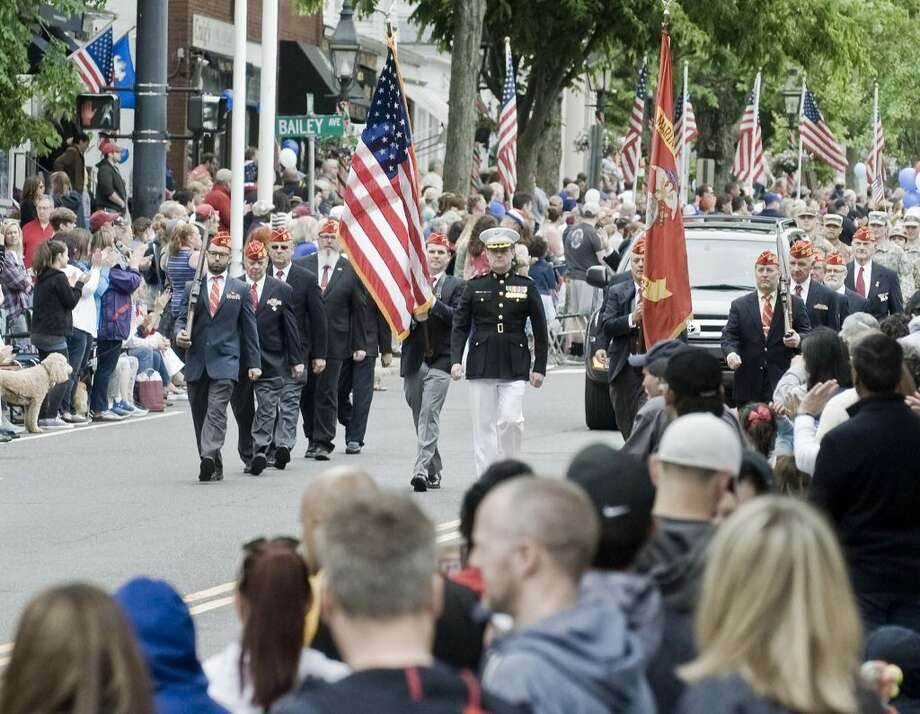 Last year's Memorial Day parade drew a crowd of more than 5,000. — Scott Mullin photo