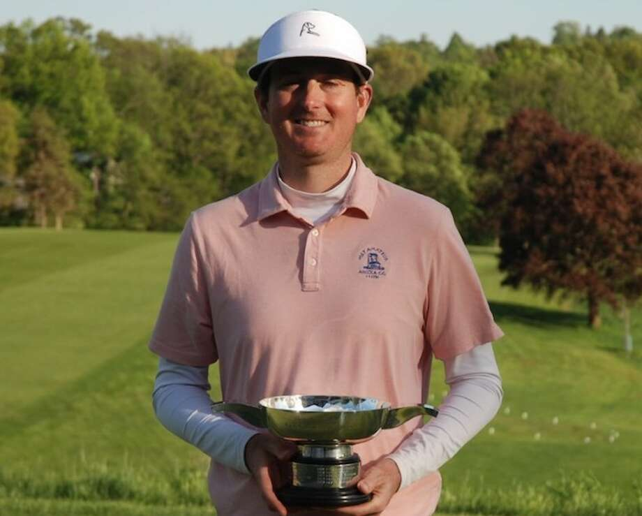 Rick Hayes of Ridgefield won the Palmer Cup this week at the Country Club of Waterbury. The event serves as the Connecticut stroke play championship.