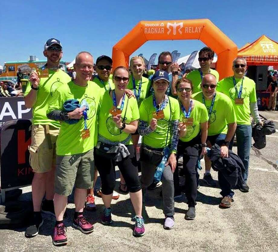 Team Your Pace or Mine included: Captain Steve Mortinger, Sean Connelly, Kathy McGroddy Goetz, Jeff Thompson, David de Lange, Anne Lewson, Emily Carr, Brian Millburn, Brian Egge, Connor Thomas and Holly Parslow.