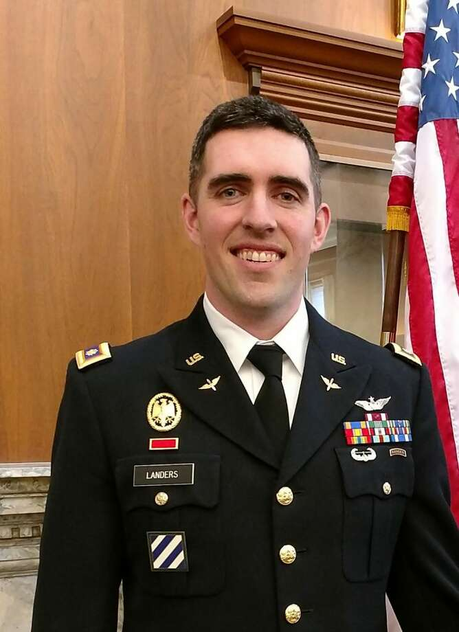 Ridgefield native Christopher Landers has been promoted to the rank of Major in the Army's aviation branch.