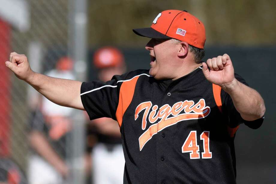 Paul Fabbri has resigned as head coach of the Ridgefield High baseball team. / Greenwich Time