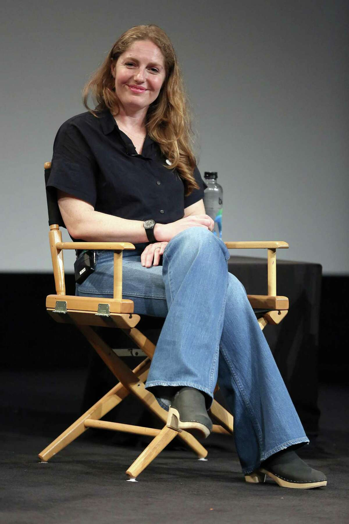 """Chef and author Abra Berens speaks on stage at """"Fierce: Stories Of Women Who Changed The World"""" during the 2019 Tribeca Film Festival in May in New York City."""