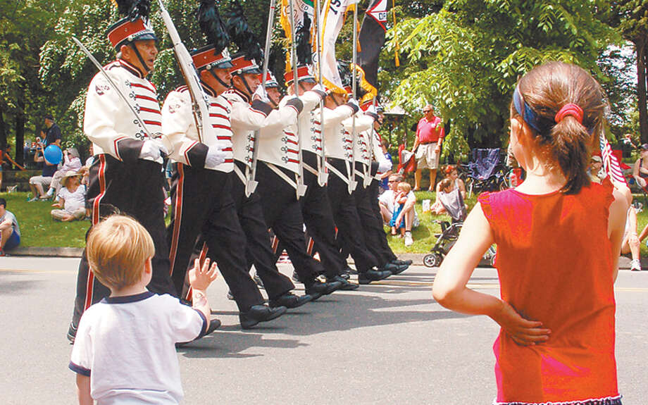 Ridgefield's Memorial Day Parade will have a record number of participants this year.
