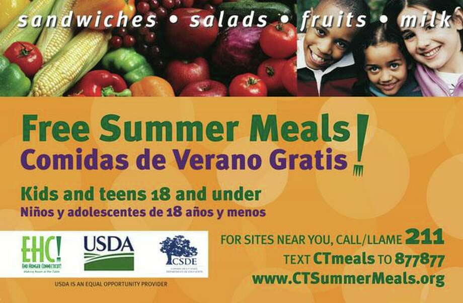 The Greenwich school discrict is offering free meals to all students attending summer school at Glenville School, but unlike previously, the program is not open to the public. Photo: Contributed Photo