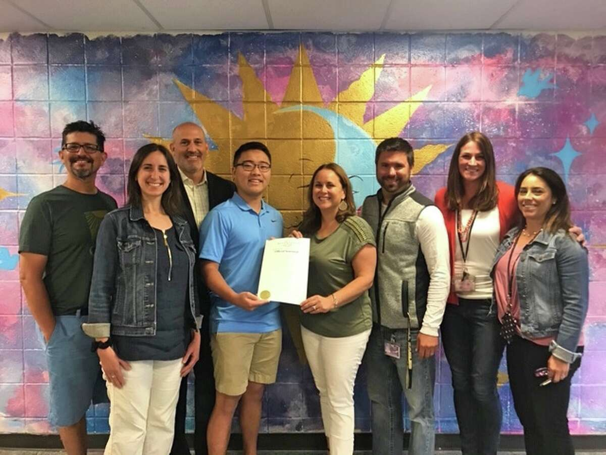 Trumbull High's World Language Department recently received recognition from Gov. Ned Lamont for its curriculum expansion and Seal of Biliteracy testing protocol.