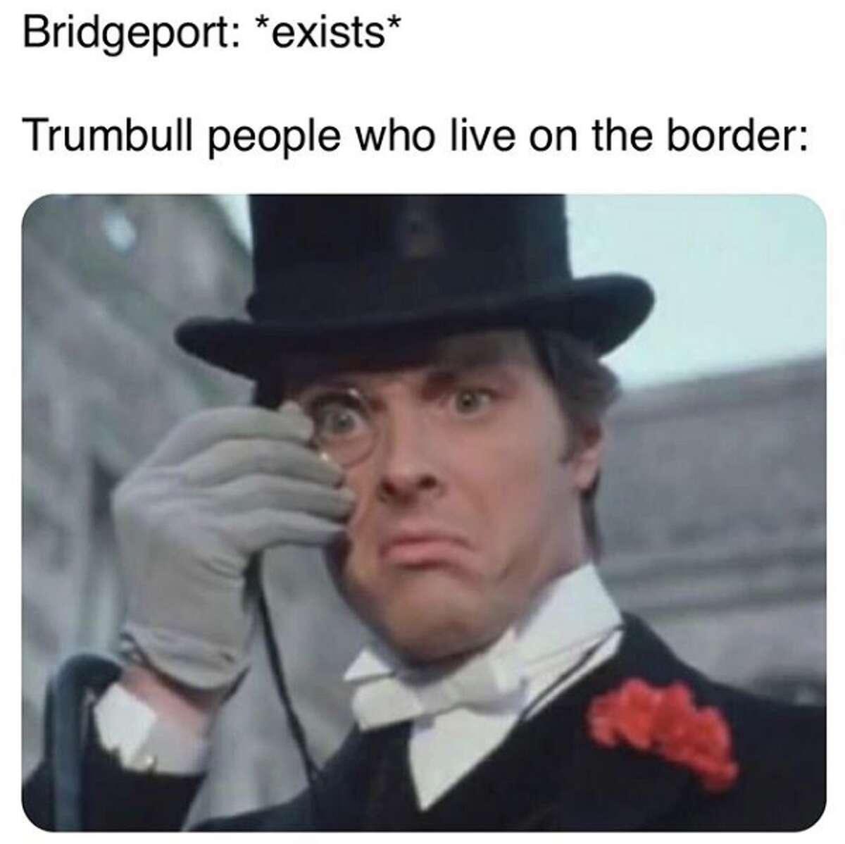 Trumbull memes monocle