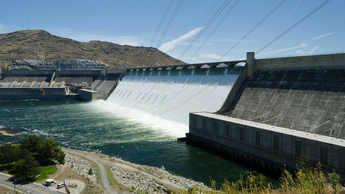 """1) In his 1938 book on the Pacific Northwest, """"Our Promised Land,"""" author Richard Neuberger entitled one chapter """"The Biggest Thing Ever Built."""" What was he talking about that is still with us? Hint: It is still the largest concrete structure in North America. (Answer: Grand Coulee Dam)"""