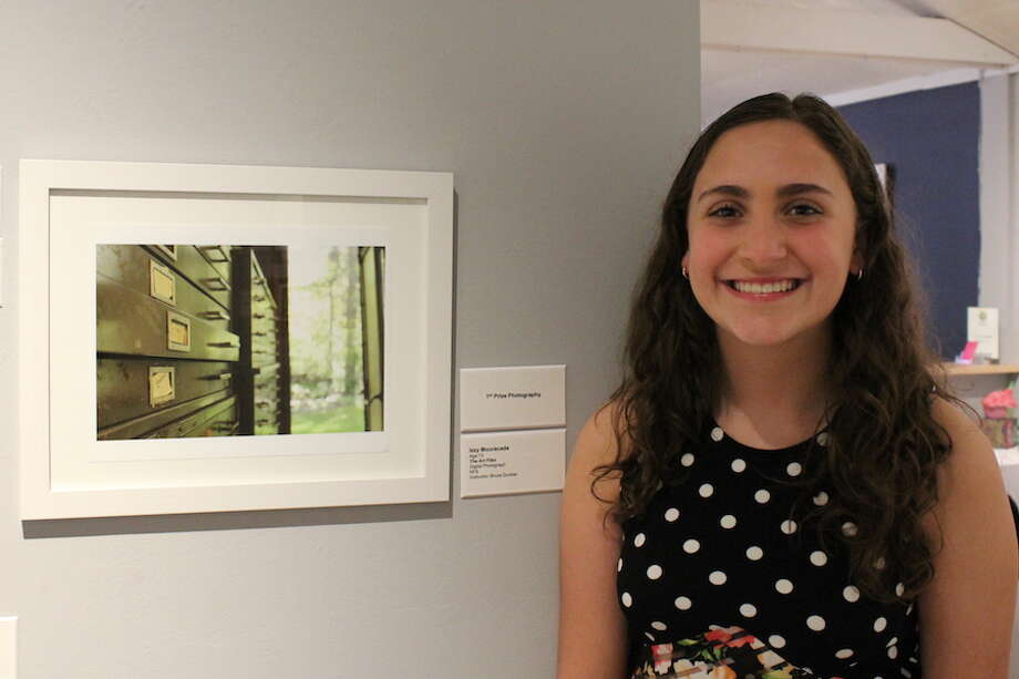 Izzy Mouracade won 1st Prize in Photography at the 29th annual Silvermine School of Art Student Exhibition on June 2.