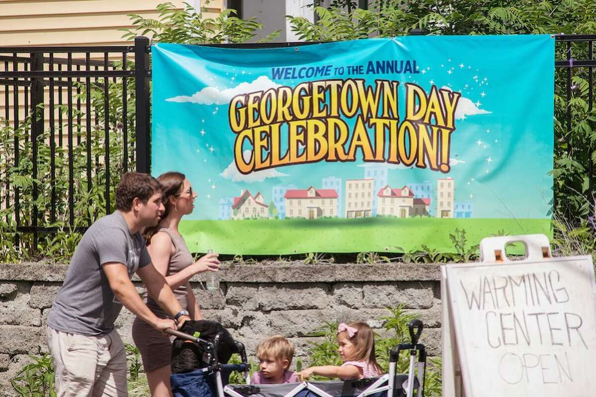 The sunny weather helped bring out families to Georgetown Day on Sunday, June 9.