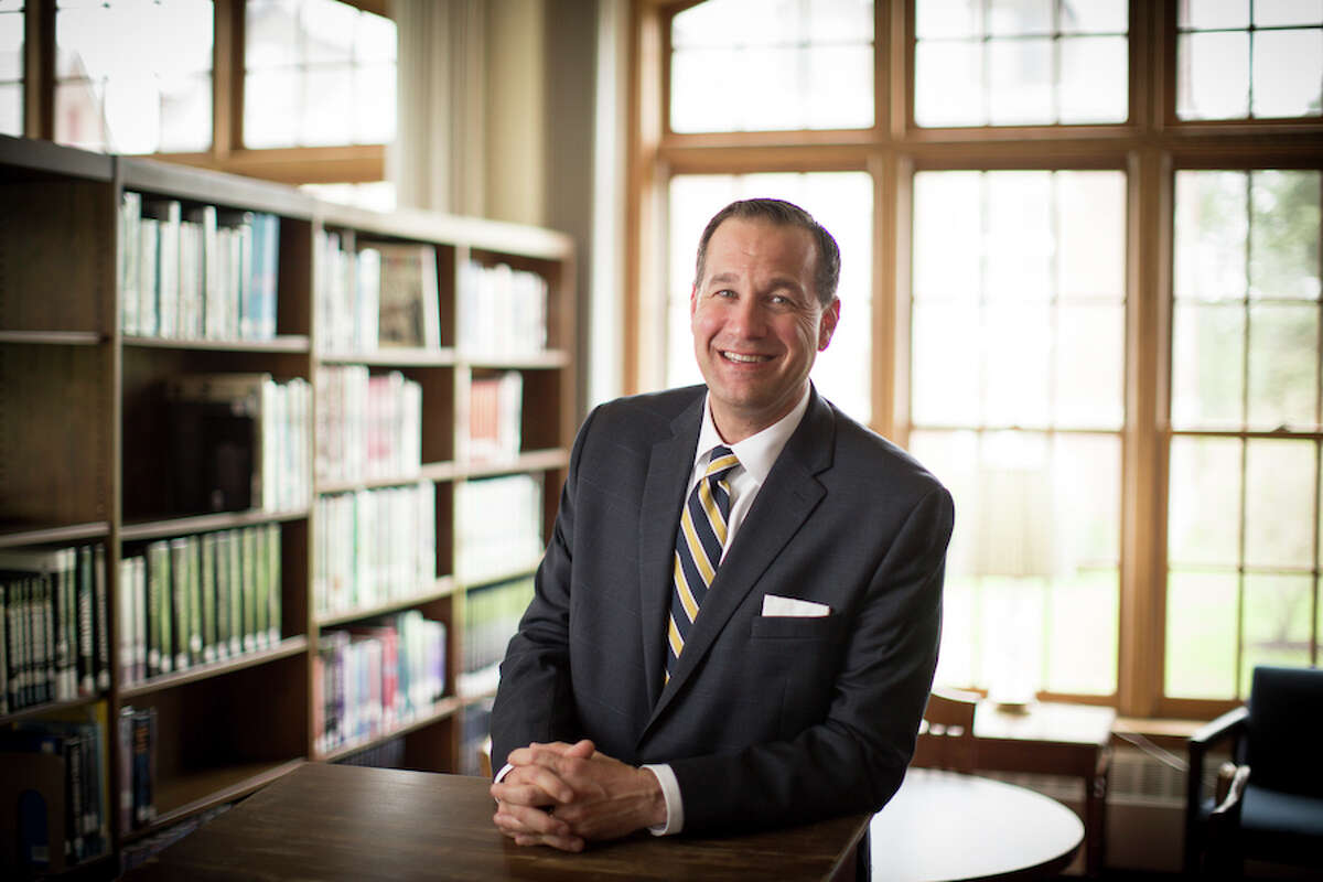 Erik K. Olstein of Wilton will lead the Trinity-Pawling School Board of Trustees.