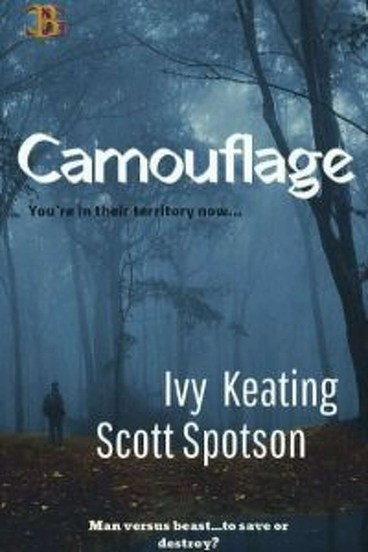 """Ivy Keating's first book, """"Camouflage,"""" is set in Wilton."""