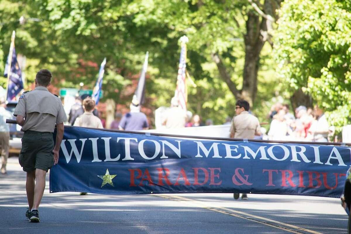 The Memorial Day parade banner. - Bryan Haeffele photo