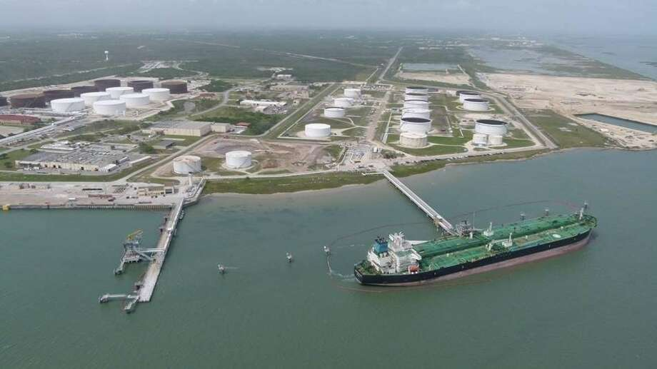 Kansas-based oil giant Flint HIlls Resources is putting the company's Ingleside Crude Oil Export Terminal up for sale. Photo: Flint Hills Resources /