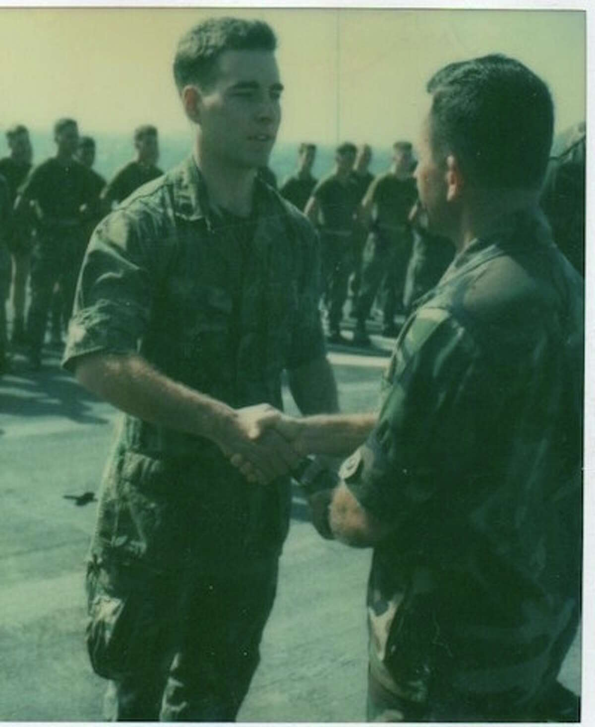 Sean McNeill served as a marine in the Middle East, Africa and Asia during the early 1980s. -Contributed photo