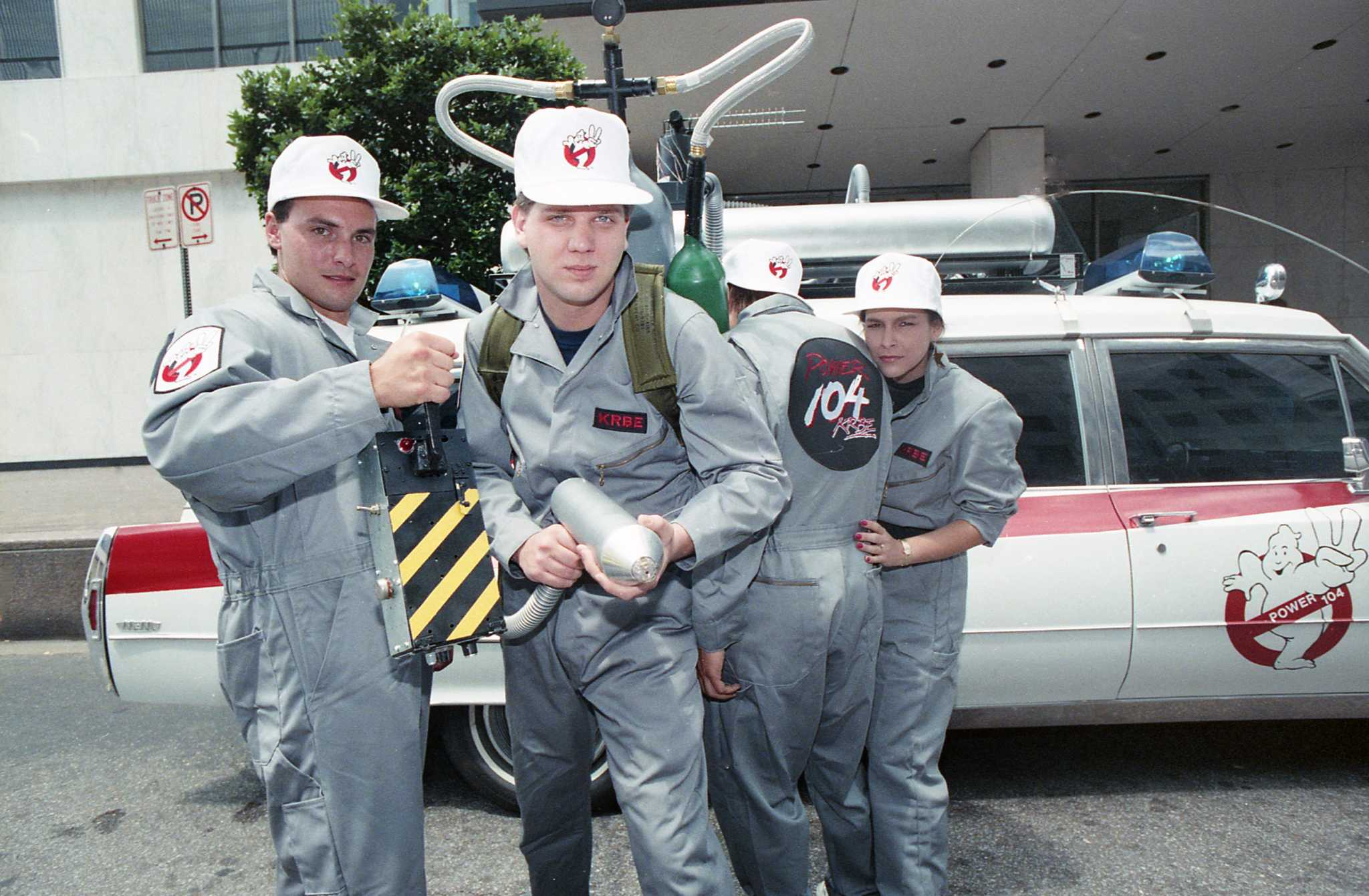 KRBE's own Ghostbusters, a hospital closes and more from June 1989
