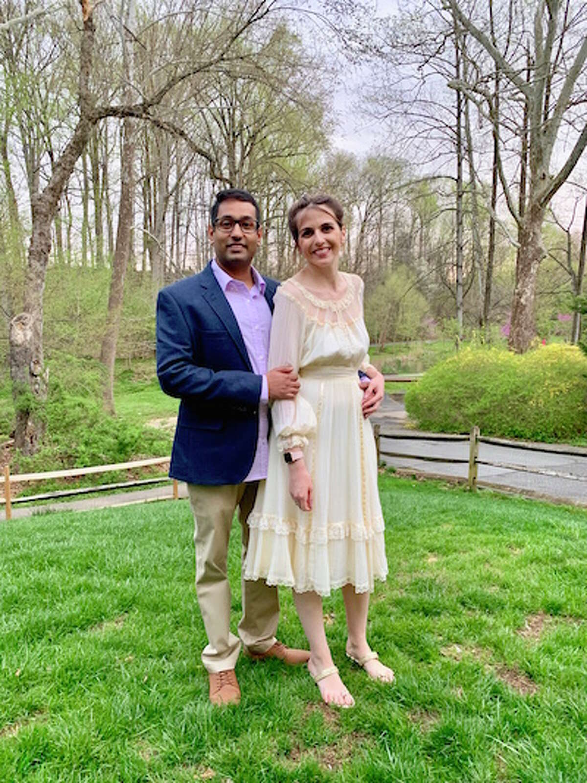 Virginia Erin Glass will wed Neeraj Ughade.