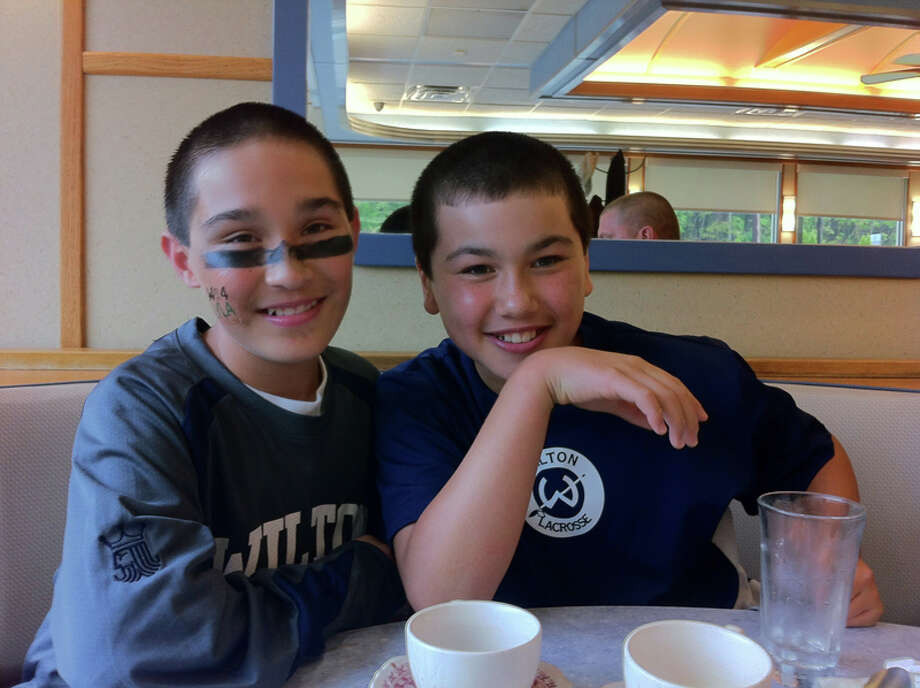 Ethan Grandolfo and Tyler Previte have been friends since they were young. - contributed photo