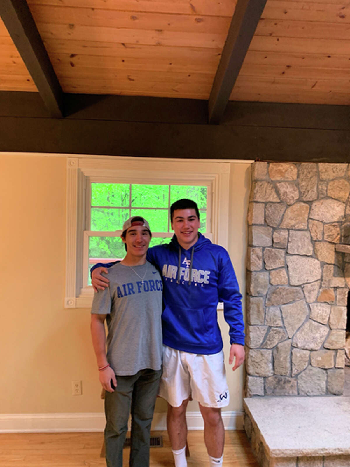 Ethan Grandolfo and Tyler Previte have both committed to playing lacrosse at the Air Force Academy. - contributed photo