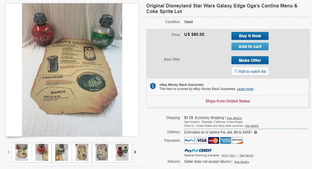 Guests Are Already Reselling Star Wars Galaxy S Edge Stuff On Ebay Houston Chronicle