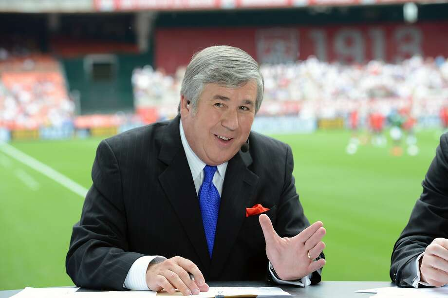 Bob Ley joined ESPN on the network's third day of operation. Photo: Allen Kee / Associated Press