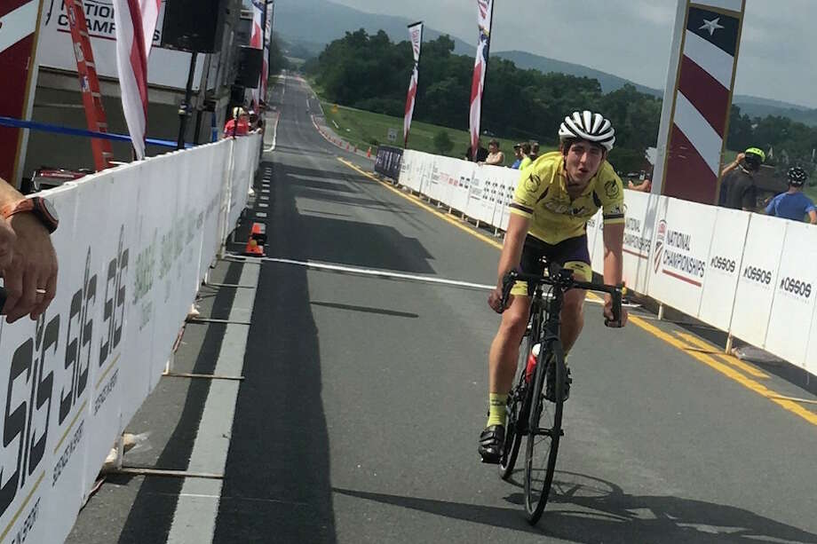 Nick Koleszar will ride in the pro-am division of the Breakaway Benefit on May 11.