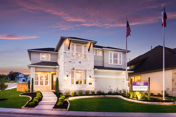 926 Hi Path Way, New Braunfels, TX 78132 Model Home - The Clemente - 2937 Sq. Ft. NOW $505,285 Beautiful 2-Story Model Home, with 4 spacious Bedrooms, 3.5 Baths, Study with built-in bookcase, Bay Window in Master Bedroom, Fireplace in Family Room, Game room, Formal Dining Room, Extended Covered Back Patio, Stone fire pit great for roasting marshmallows and a 2 Car Garage. Located in the Hillside on Landa in New Braunfels, TX.