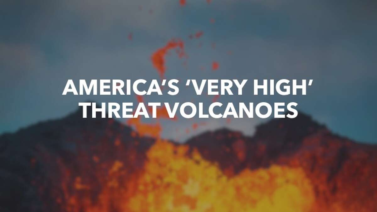 The USGS has completed a new assessment of the threat posed by U.S. volcanoes. The following volcanoes are rated as