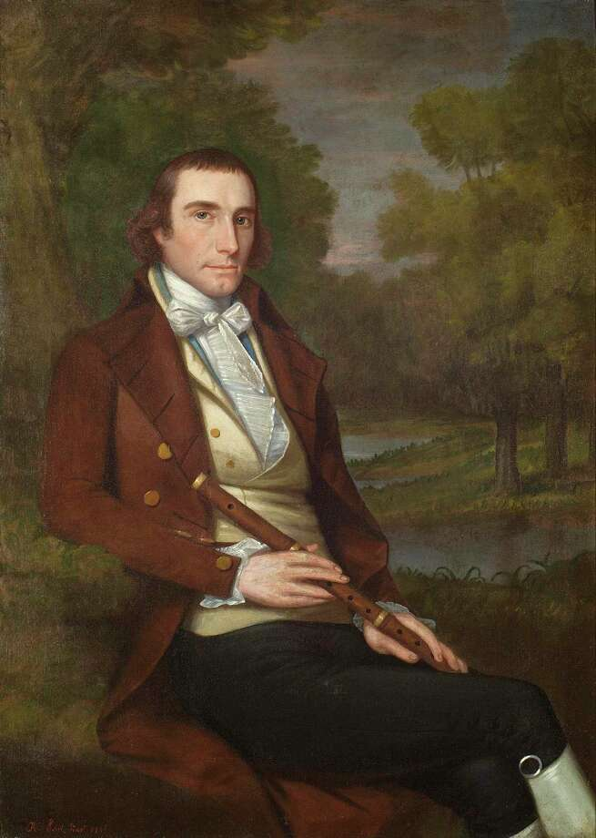 Portrait of Philo Ruggles, an alumnus of the Litchfield Law School, by Ralph Earl. Photo: Sotheby's / Contributed Photo /