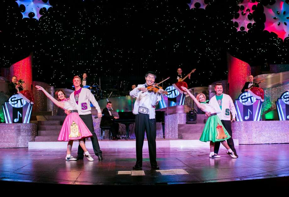 IF YOU GO: Tickets are $38-$58. Doors open at 2 p.m. on Sunday and the show starts at 3 p.m. Wagner Noel Performing Arts Center Photo: Courtesy Photo