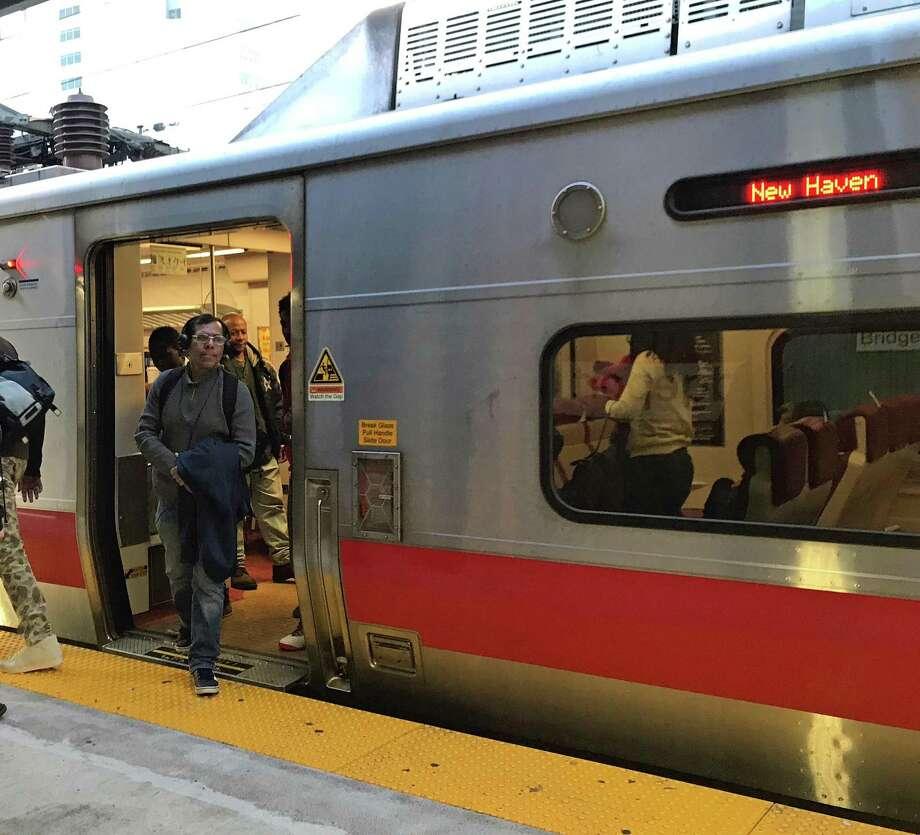 FILE PHOTO -- Bridgeport, Conn., train station. Photo: Tara O'Neill / Hearst Connecticut Media / Connecticut Post