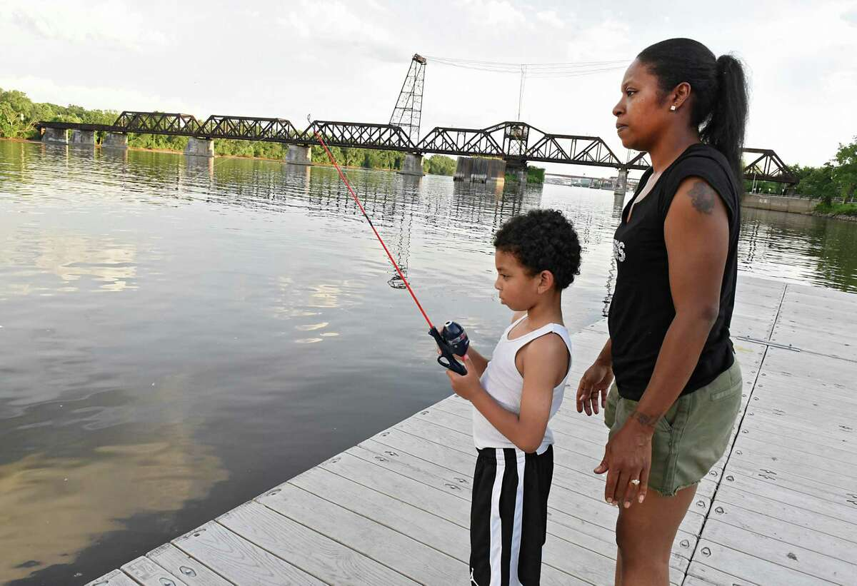 Your child's attention span when it comes to fishing might end up being shorter than yours. Plan to spend an hour or two of quality time at most, and then you can call it a day.