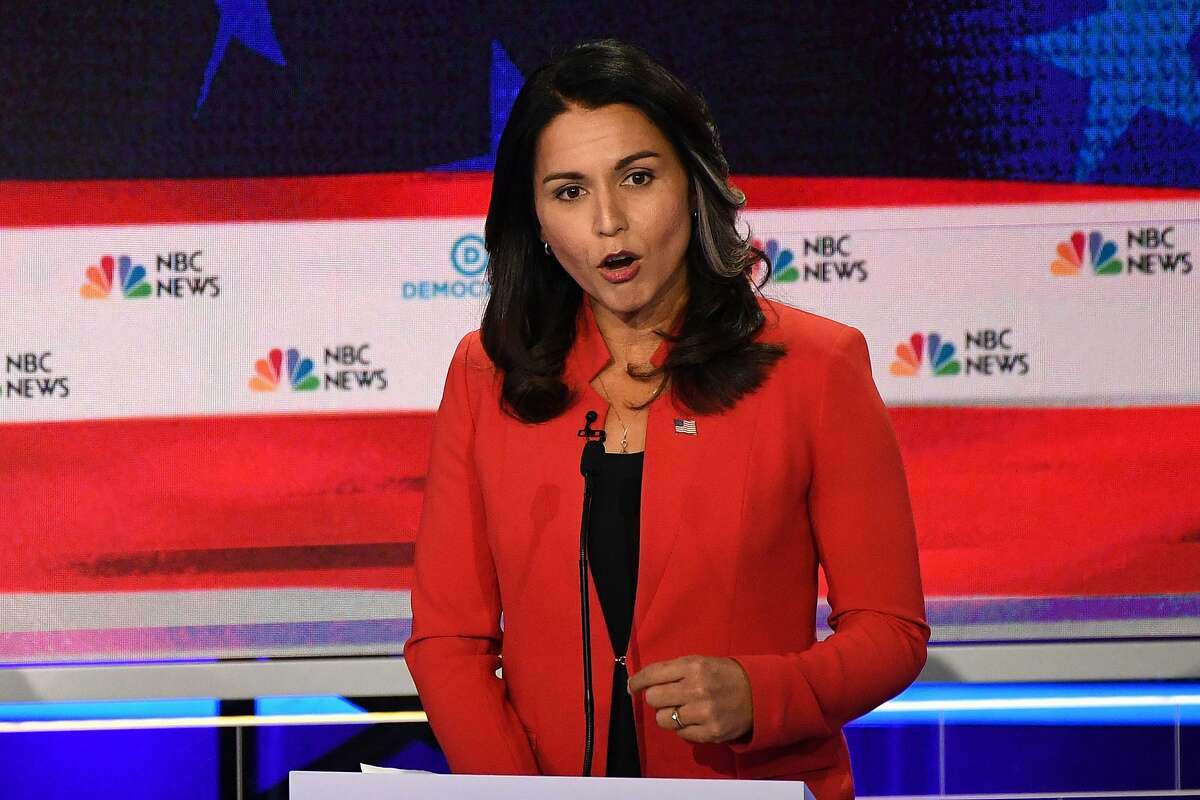 Who was the most-searched candidate during the debate? The