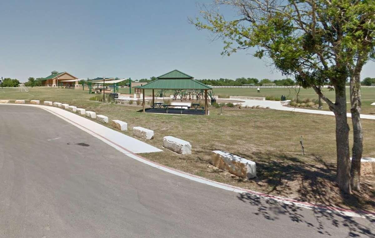Five Mile Dam park as shown on google maps.