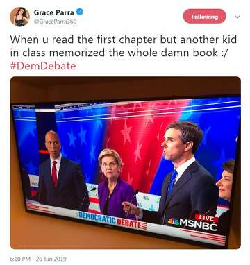 Beto O Rourke Elicits Memes As He Tackles Debate Question In