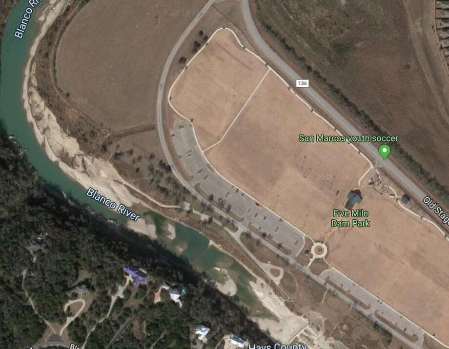 Five Mile Dam park as shown on google maps. Photo: Google Maps
