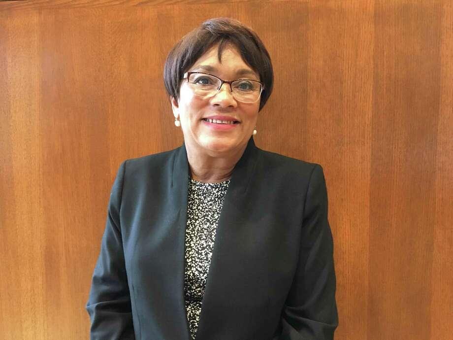 Mayor Toni Harp outside her office. Photo: Mary E. O'Leary /Hearst Connecticut Media /