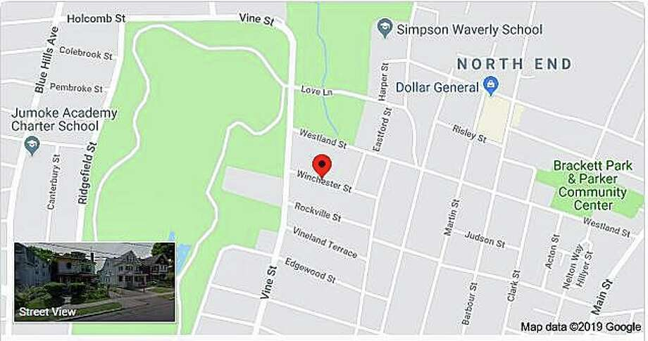 Hartford police are investigating a shooting that killed a 30-year-old male and seriously injured a second person on Winchester Street late Wednesday, June 26, 2019. Police were alerted to gunfire in the area of 31 Winchester St. by the city's ShotSpotter system, Lt. Paul Cicero said. Photo: Goggle Maps