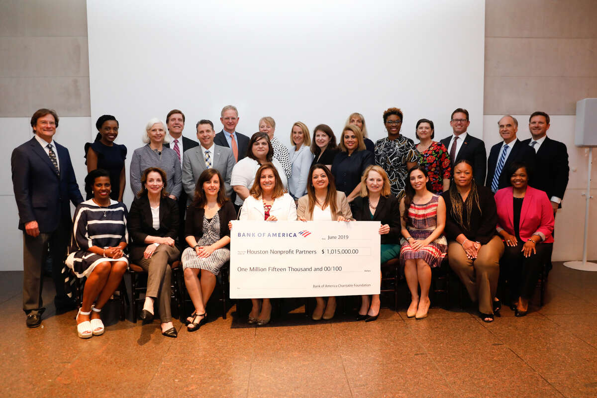 Bank of America provided grants to 27 Houston-area nonprofits in June 2019.
