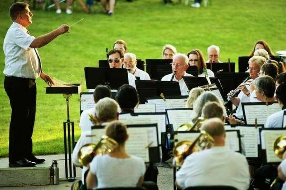 Wednesday, July 3: Chemical City Band, in its 110th season, will play in the Nicholson-Guenther Band Shell. (Daily News file photo)
