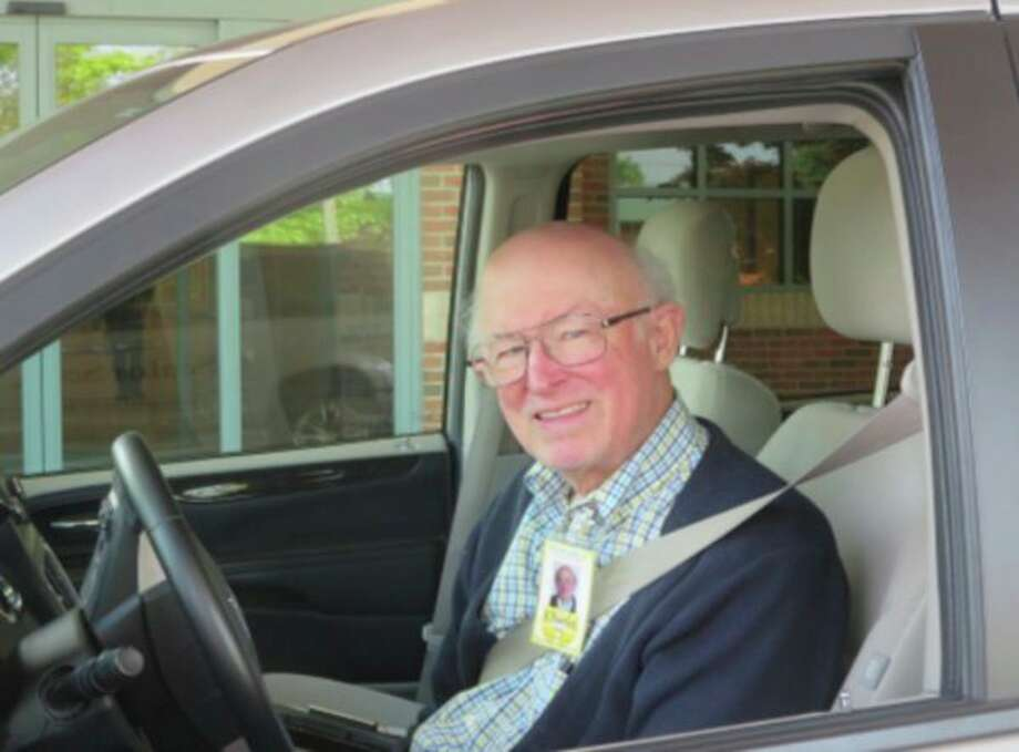 Charles Bash has been driving for Senior Services' Transportation Department since 2007and was chosen as the Volunteer of the Month for July. (Photo provided)