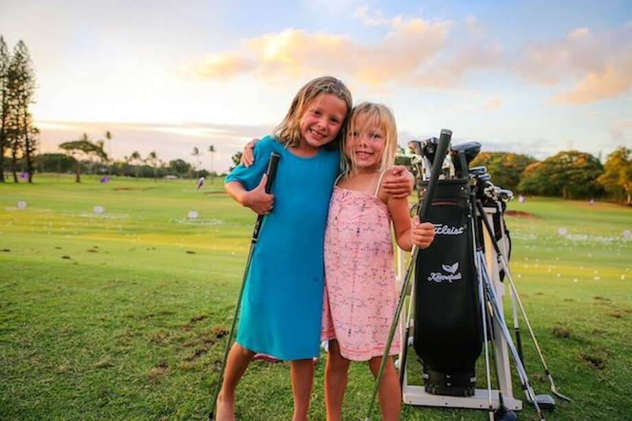 """The Golf Courses at Ka'anapali, Maui, Hawaii are teeing up the next generation of junior golfers with a """"Juniors Play Free"""" on the Ka'anapali Kai Course With Their Own Tees! Photo: SportStars Magazine"""