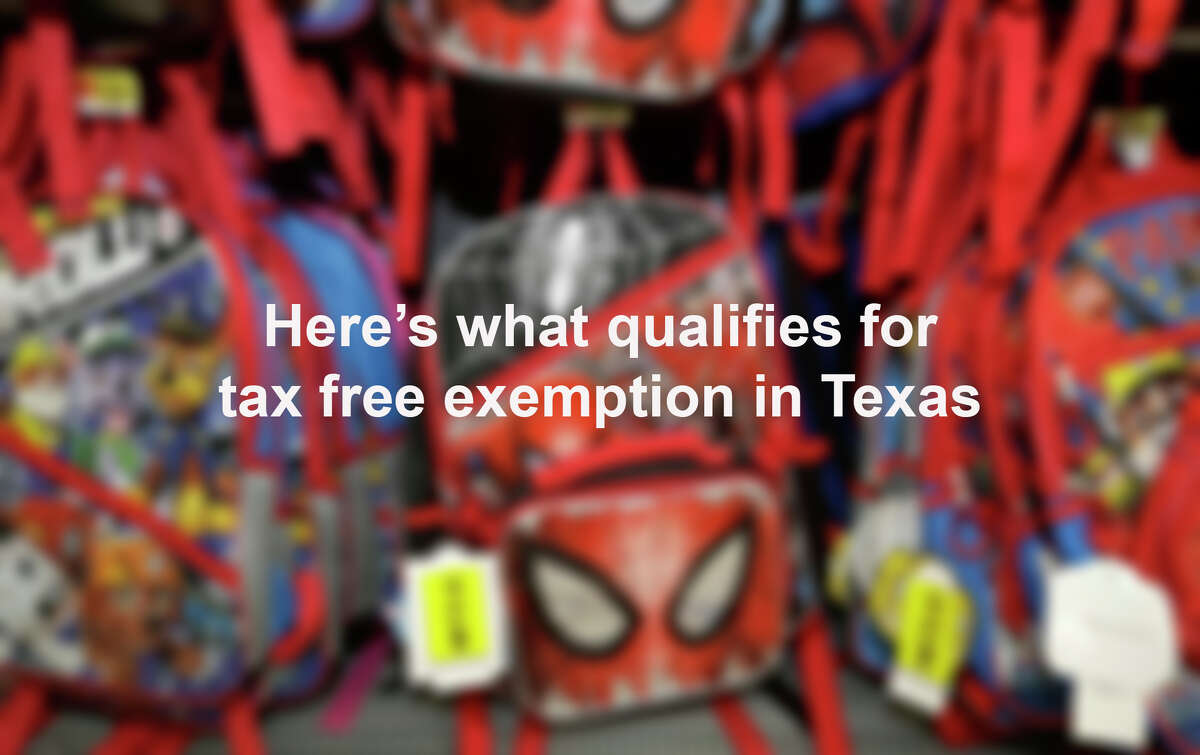 Click through the slideshow to see what is tax free in Texas during the tax free weekend