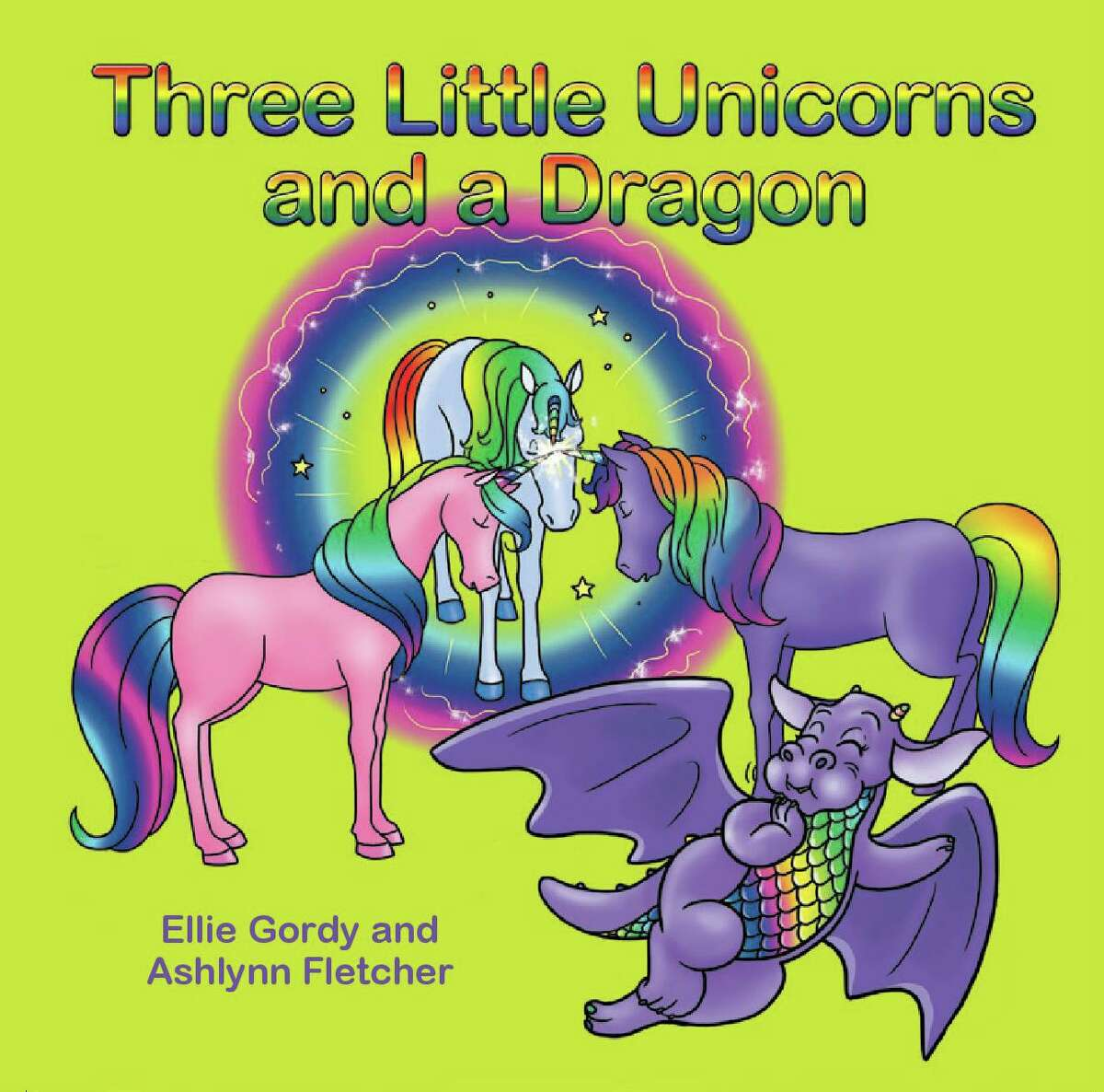 Lake Houston resident Ellie Gordy and her 7-year-old granddaughter Ahlynn Fletcher published a book together called