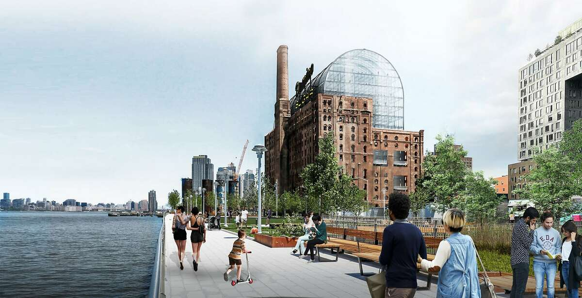 Vishaan Chakrabarti, the incoming dean of UC Berkeley's College of Environmental Design, is the founder of�Partnership for Architecture and Urbanism in New York. His work includes this design to insert a glass office building into the shell of a former sugar refinery in Brooklyn.